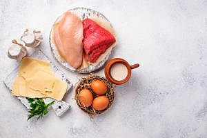 Milk-meat-eggs-saturated -fat